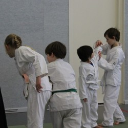 Aikido kinderles in Sportcentrum Caland