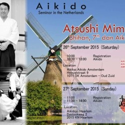 Mimuro Shihan (7e dan) Aikido seminar 26 september 2015