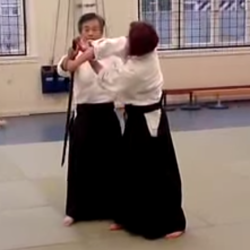 Aikido - tachi dori 2