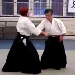 Aikido - tachi dori 4